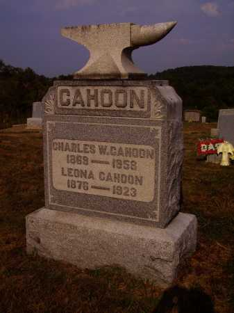 CAHOON, LEONA - Meigs County, Ohio | LEONA CAHOON - Ohio Gravestone Photos