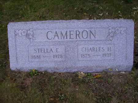 CAMERON, STELLA E. - Meigs County, Ohio | STELLA E. CAMERON - Ohio Gravestone Photos