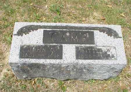 CAMP, JOHN Q. - Meigs County, Ohio   JOHN Q. CAMP - Ohio Gravestone Photos