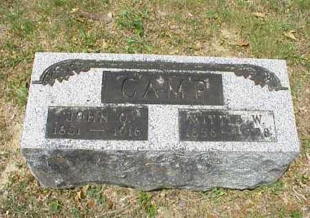 CAMP, MITTIE W. - Meigs County, Ohio | MITTIE W. CAMP - Ohio Gravestone Photos