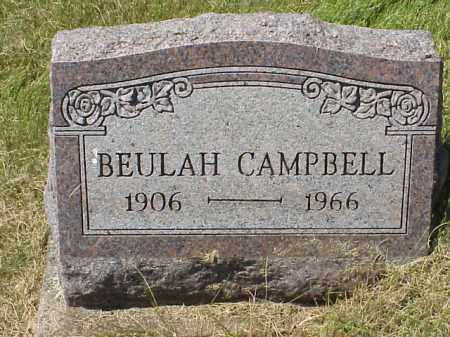 CAMPBELL, BEULAH - Meigs County, Ohio | BEULAH CAMPBELL - Ohio Gravestone Photos