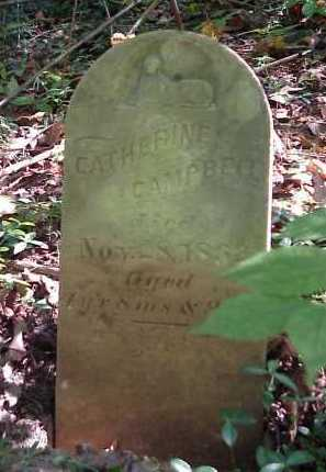 CAMPBELL, CATHERINE - Meigs County, Ohio | CATHERINE CAMPBELL - Ohio Gravestone Photos