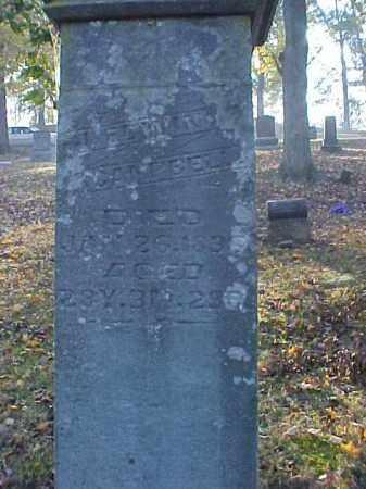 CAMPBELL, JAMES EDWIN - Meigs County, Ohio | JAMES EDWIN CAMPBELL - Ohio Gravestone Photos
