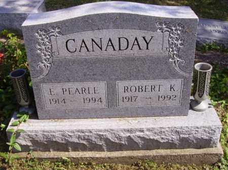 CANADAY, ROBERT K. - Meigs County, Ohio | ROBERT K. CANADAY - Ohio Gravestone Photos