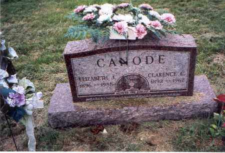 CANODE, CLARENCE C. - Meigs County, Ohio | CLARENCE C. CANODE - Ohio Gravestone Photos