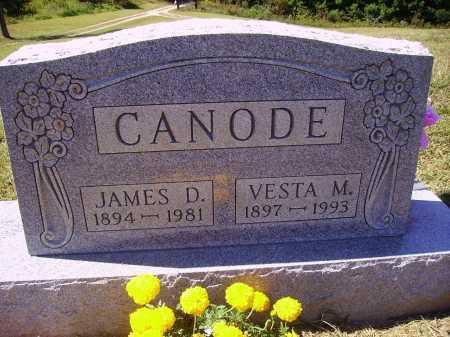 RIFE CANODE, VESTA M. - Meigs County, Ohio | VESTA M. RIFE CANODE - Ohio Gravestone Photos