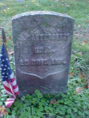 CANTERBERRY, J. R. - Meigs County, Ohio | J. R. CANTERBERRY - Ohio Gravestone Photos