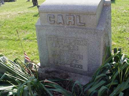 CARL, CHRISTOPHER - Meigs County, Ohio | CHRISTOPHER CARL - Ohio Gravestone Photos
