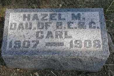 CARL, HAZEL M. - Meigs County, Ohio | HAZEL M. CARL - Ohio Gravestone Photos