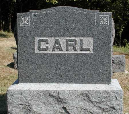 CARL, HEADSTONE - Meigs County, Ohio   HEADSTONE CARL - Ohio Gravestone Photos