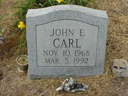 CARL, JOHN E. - Meigs County, Ohio | JOHN E. CARL - Ohio Gravestone Photos