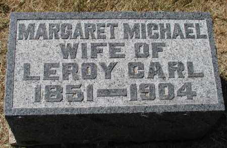 CARL, MARGARET MICHAEL - Meigs County, Ohio | MARGARET MICHAEL CARL - Ohio Gravestone Photos