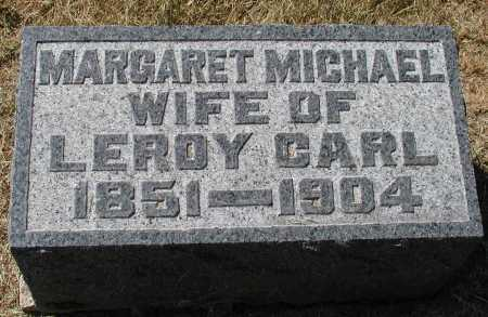 CARL, MARGARET MICHAEL - Meigs County, Ohio   MARGARET MICHAEL CARL - Ohio Gravestone Photos