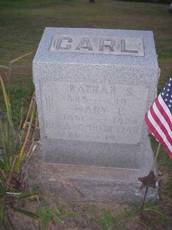 MOHLER CARL, MARY E. - Meigs County, Ohio | MARY E. MOHLER CARL - Ohio Gravestone Photos