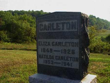 CARLETON, MATILDA - Meigs County, Ohio   MATILDA CARLETON - Ohio Gravestone Photos