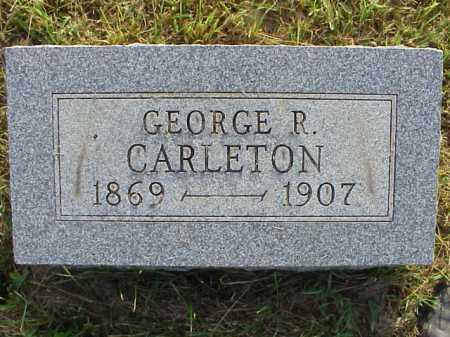 CARLETON, GEORGE R. - Meigs County, Ohio | GEORGE R. CARLETON - Ohio Gravestone Photos