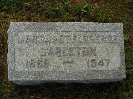 CARLETON, MARGARET FLORENCE - Meigs County, Ohio | MARGARET FLORENCE CARLETON - Ohio Gravestone Photos