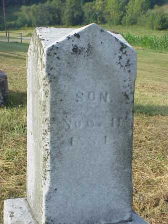 CARLETON, SON - Meigs County, Ohio   SON CARLETON - Ohio Gravestone Photos