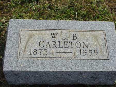 CARLETON, W. J. BAXIL - Meigs County, Ohio | W. J. BAXIL CARLETON - Ohio Gravestone Photos