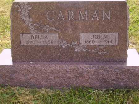 CARMAN, JOHN - Meigs County, Ohio | JOHN CARMAN - Ohio Gravestone Photos