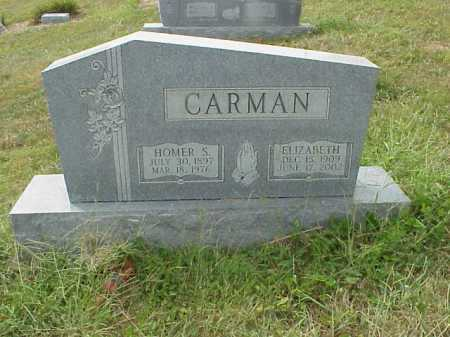 CARMAN, ELIZABETH - Meigs County, Ohio | ELIZABETH CARMAN - Ohio Gravestone Photos