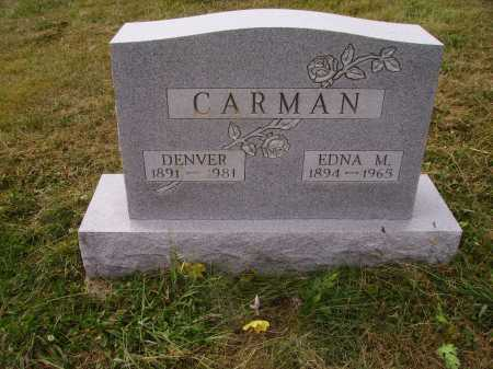CARMAN, WILLIAM DENVER - Meigs County, Ohio | WILLIAM DENVER CARMAN - Ohio Gravestone Photos