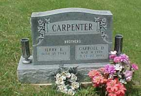 CARPENTER, CARROLL D. - Meigs County, Ohio | CARROLL D. CARPENTER - Ohio Gravestone Photos