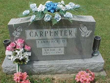 CARPENTER, LILLIE BELLE - Meigs County, Ohio | LILLIE BELLE CARPENTER - Ohio Gravestone Photos