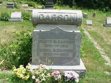 CARSON, ETHEL R. - Meigs County, Ohio | ETHEL R. CARSON - Ohio Gravestone Photos