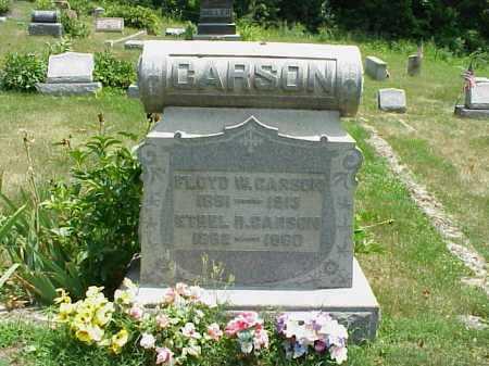 CARSON, FLOYD W. - Meigs County, Ohio   FLOYD W. CARSON - Ohio Gravestone Photos