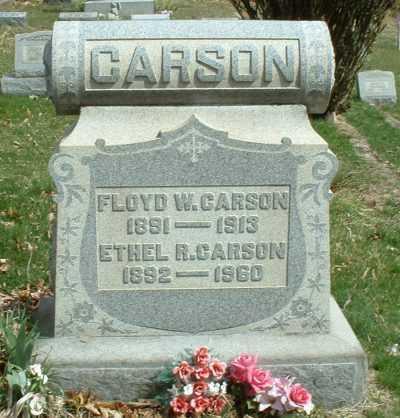 CARSON, ETHEL R. - Meigs County, Ohio   ETHEL R. CARSON - Ohio Gravestone Photos