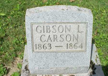 CARSON, GIBSON L. - Meigs County, Ohio | GIBSON L. CARSON - Ohio Gravestone Photos