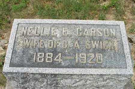 CARSON, NELLIE E. - Meigs County, Ohio | NELLIE E. CARSON - Ohio Gravestone Photos