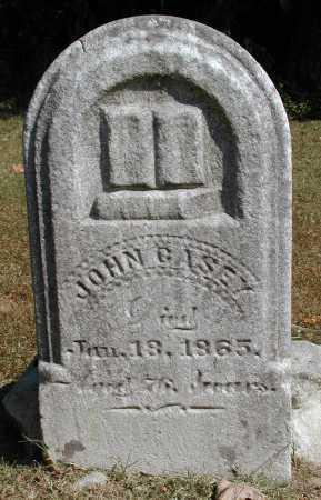 CASEY, JOHN - Meigs County, Ohio | JOHN CASEY - Ohio Gravestone Photos