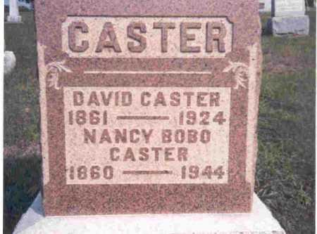 BOBO CASTER, NANCY - Meigs County, Ohio | NANCY BOBO CASTER - Ohio Gravestone Photos