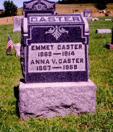 CASTER, EMMET - Meigs County, Ohio   EMMET CASTER - Ohio Gravestone Photos