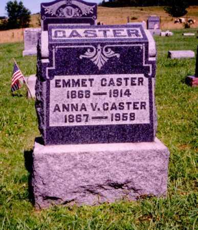 CASTER, ANNA V. - Meigs County, Ohio | ANNA V. CASTER - Ohio Gravestone Photos