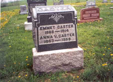 CASTER, EMMET - Meigs County, Ohio | EMMET CASTER - Ohio Gravestone Photos