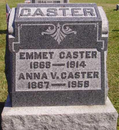 VALE CASTER, ANNA - Meigs County, Ohio | ANNA VALE CASTER - Ohio Gravestone Photos