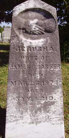 CASTER, JERUSHA - Meigs County, Ohio | JERUSHA CASTER - Ohio Gravestone Photos