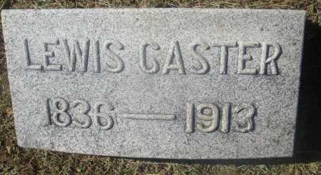 CASTER, LEWIS - Meigs County, Ohio | LEWIS CASTER - Ohio Gravestone Photos