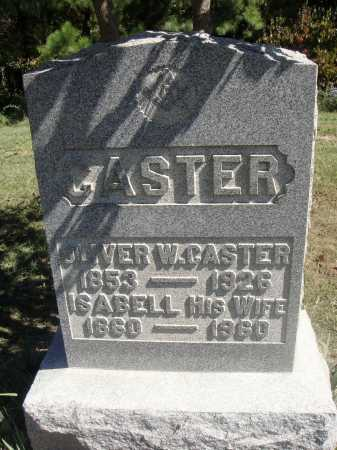 CASTER, OLIVER WESLEY - Meigs County, Ohio | OLIVER WESLEY CASTER - Ohio Gravestone Photos