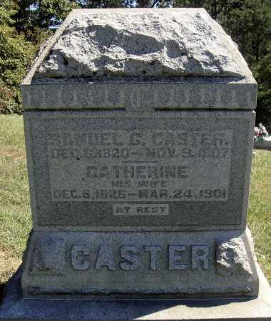 CASTER, SAMUEL G. - OVERALL VIEW - Meigs County, Ohio | SAMUEL G. - OVERALL VIEW CASTER - Ohio Gravestone Photos