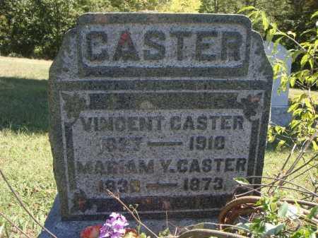 CASTER, VINCENT - Meigs County, Ohio | VINCENT CASTER - Ohio Gravestone Photos