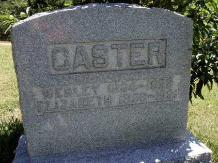 CASTER, ELIZABETH - Meigs County, Ohio | ELIZABETH CASTER - Ohio Gravestone Photos