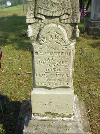 CASTLE, ELIZABETH - Meigs County, Ohio | ELIZABETH CASTLE - Ohio Gravestone Photos