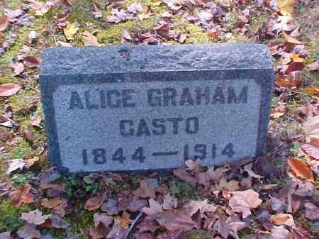 CASTO, ALICE - Meigs County, Ohio | ALICE CASTO - Ohio Gravestone Photos