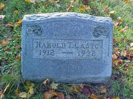 CASTO, HAROLD - Meigs County, Ohio | HAROLD CASTO - Ohio Gravestone Photos