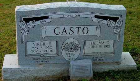 CASTO, VIRGIL F - Meigs County, Ohio   VIRGIL F CASTO - Ohio Gravestone Photos