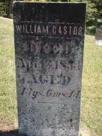 CASTOR, WILLIAM - Meigs County, Ohio | WILLIAM CASTOR - Ohio Gravestone Photos